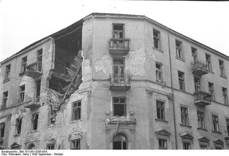 Damaged Building