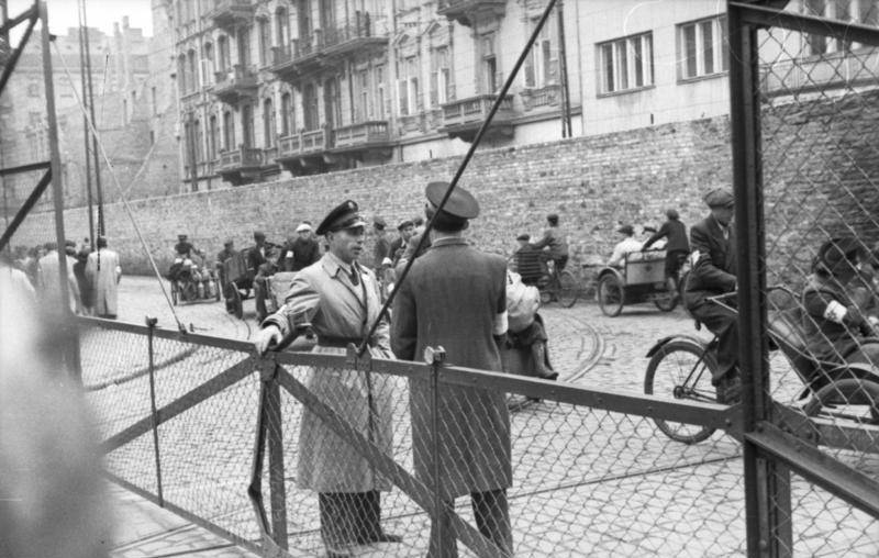 Warsaw Ghetto Zone Divider