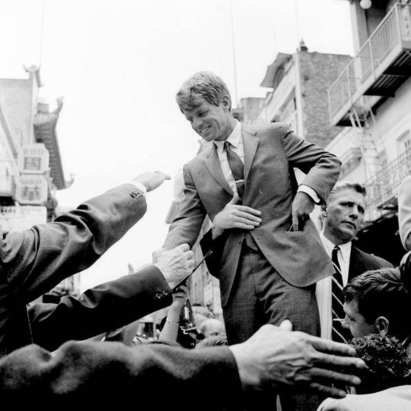 Bobby Kennedy Campaigns For President