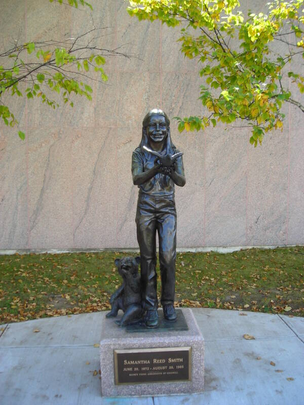 Samantha Smith Statue