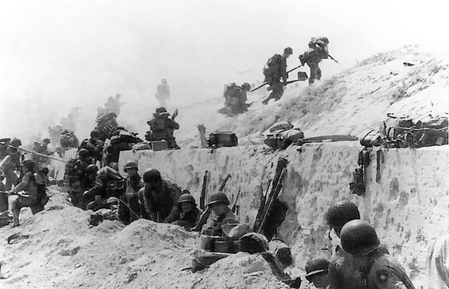 Troops Arrive At Utah Beach