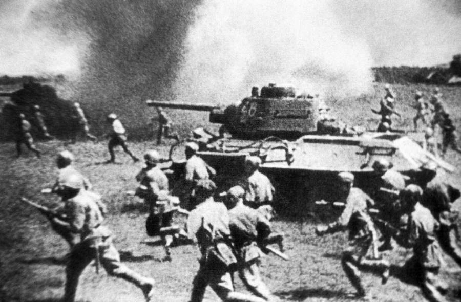 Attack At Battle Of Kursk