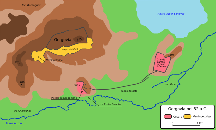 Battle Of Gergovia