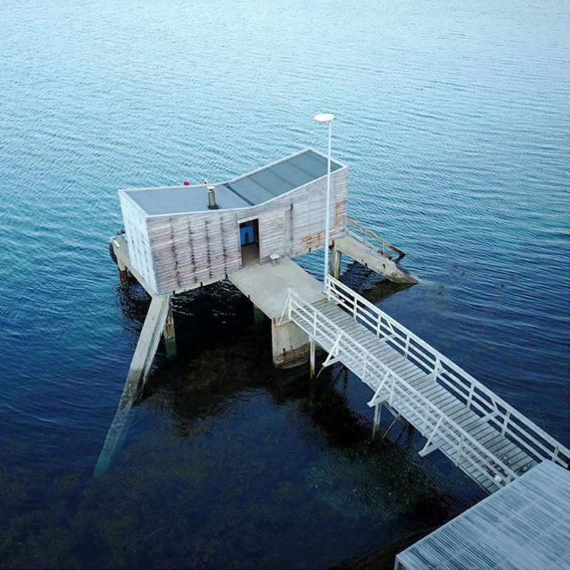 Bridge To Room On Water