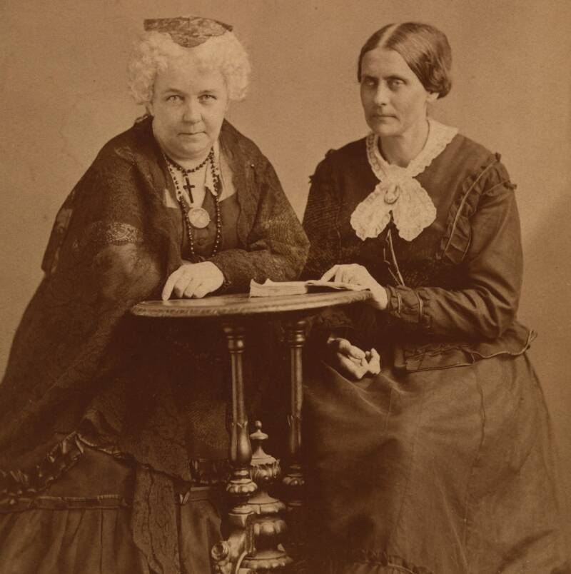 Cady Stanton And Susan B. Anthony