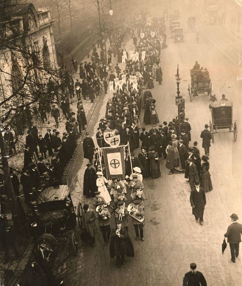 Church League For Women's Suffrage Movement