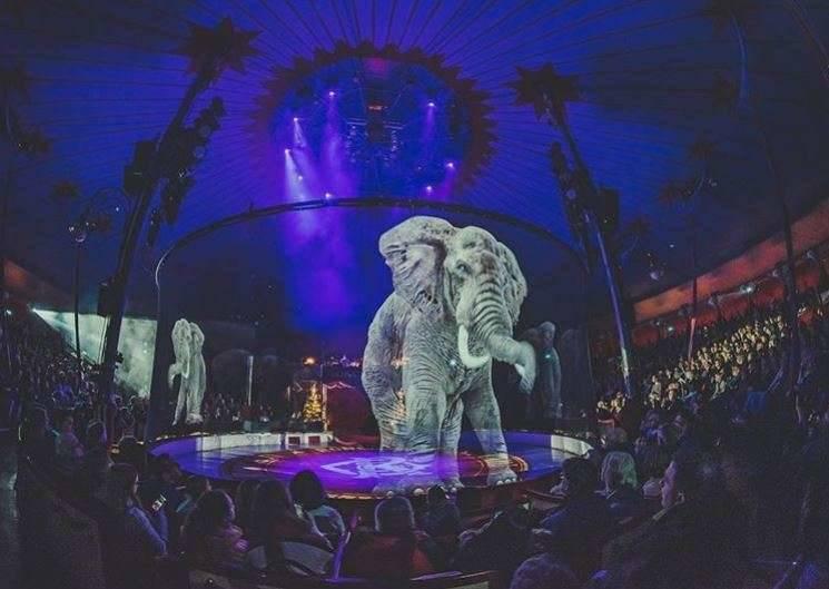 Circus Roncalli Elephant