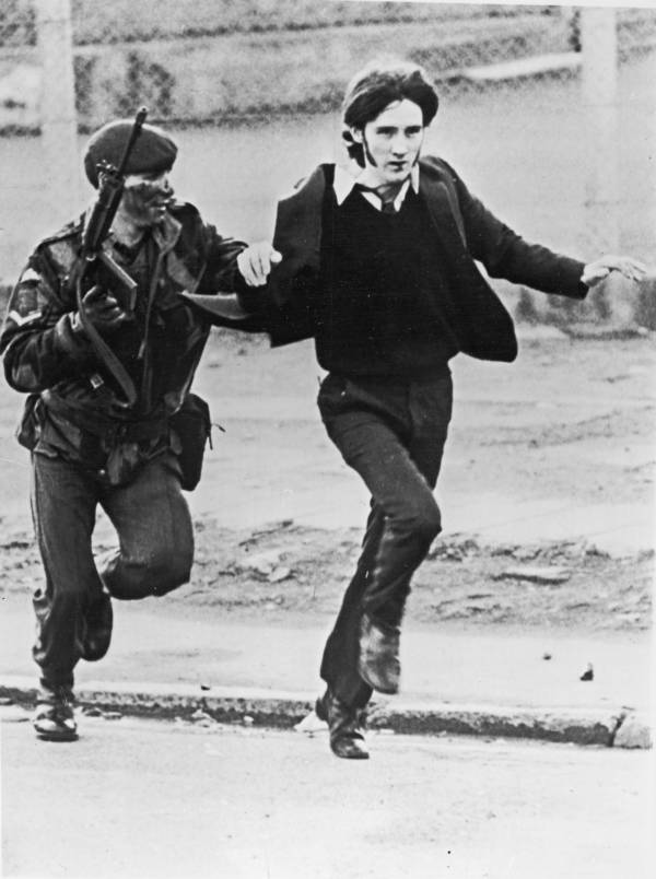 Civilian Arrested Bloody Sunday