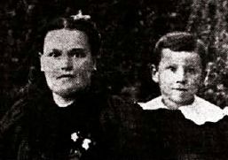 Harland Sanders With His Mother