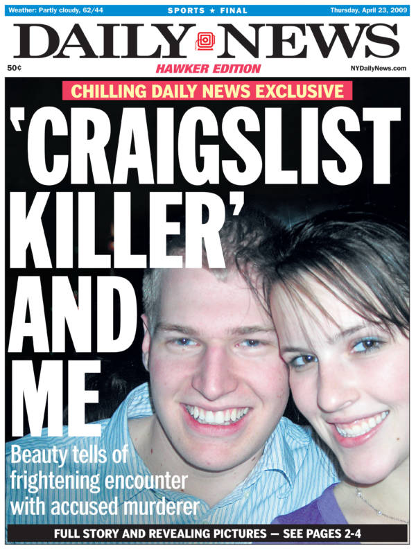 Daily News Article Of Craigslist Killer