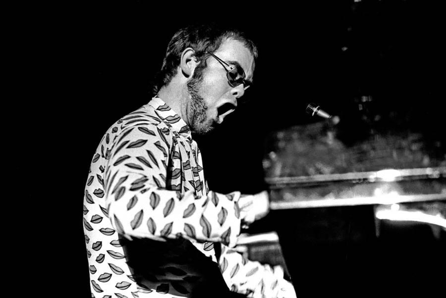 Elton John Singing