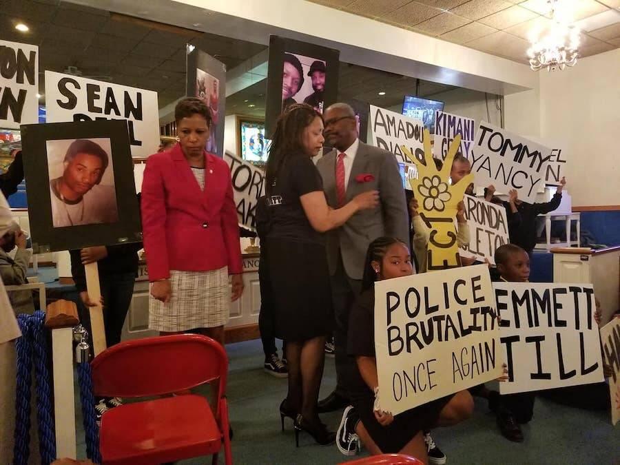 Everett Palmer Justice Protest