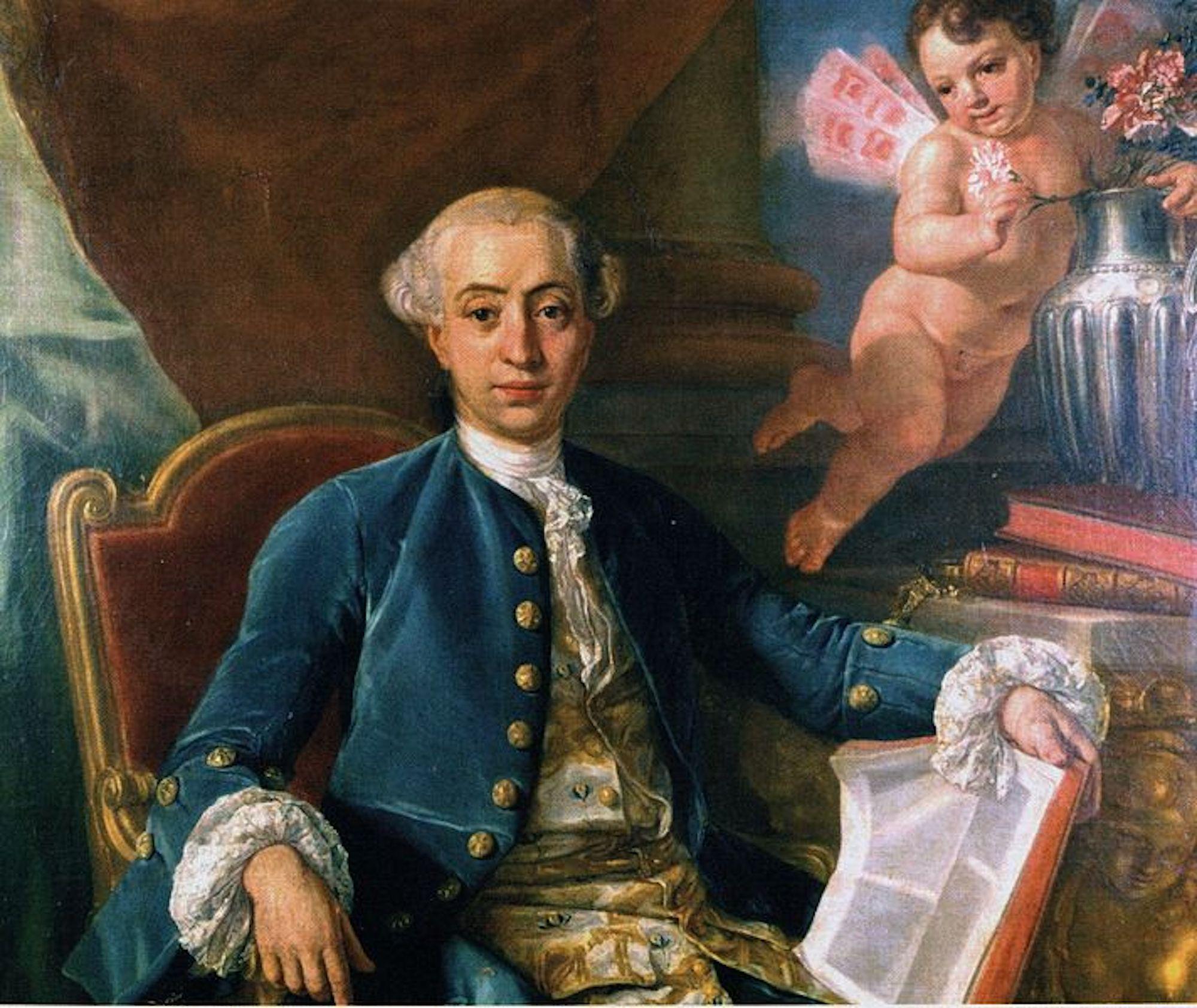 Giacomo Casanova Featured