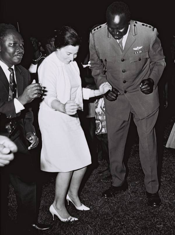 Idi Amin And Miriam Eshkol