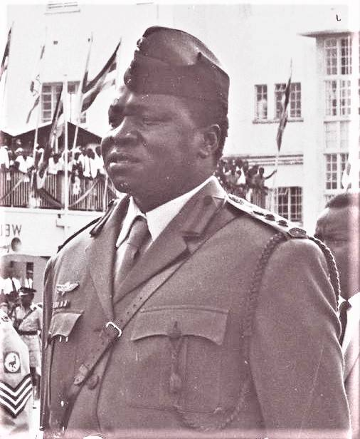 Idi Amin At Entebbe