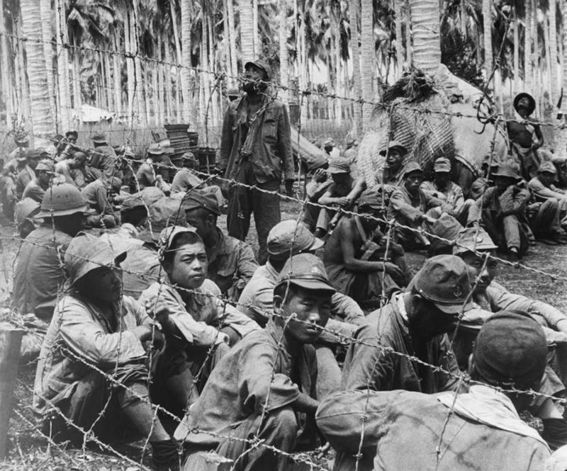 Japanese War Prisoners At Guadalcanal