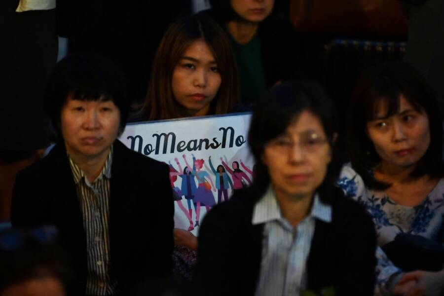 Japanse Protest Of Rape Acquittals