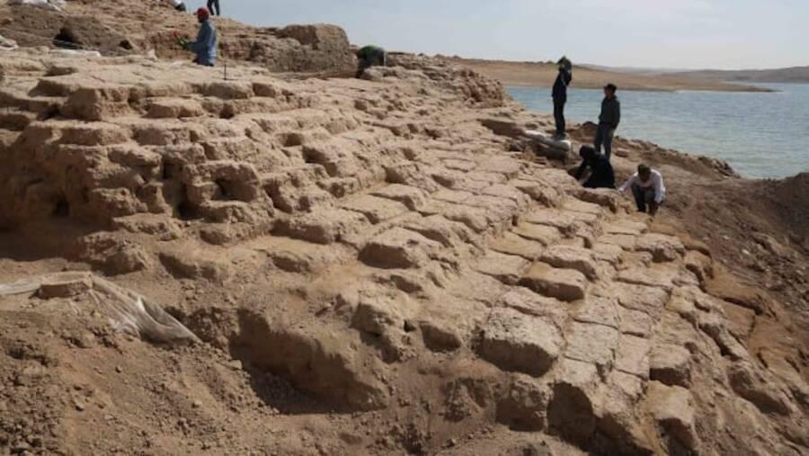 Kemune Palace Excavation Site