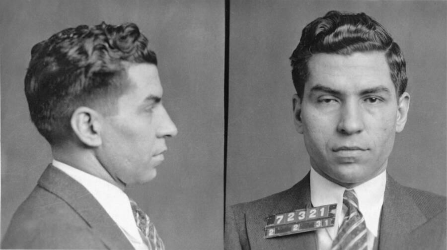 Lucky Luciano Mugshot