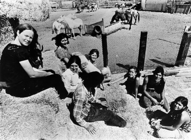 Manson Family At Spahn Ranch