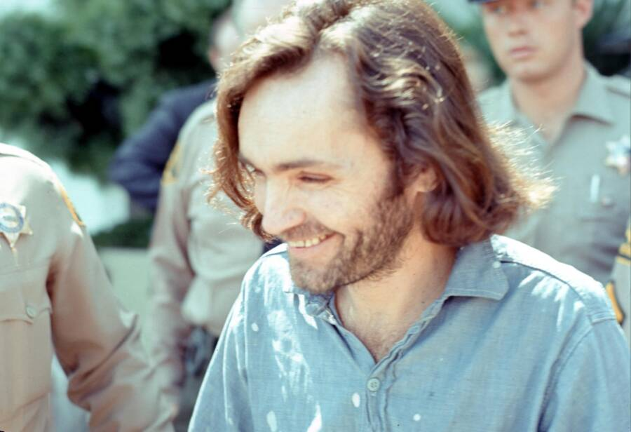 Charles Manson Before His Trial