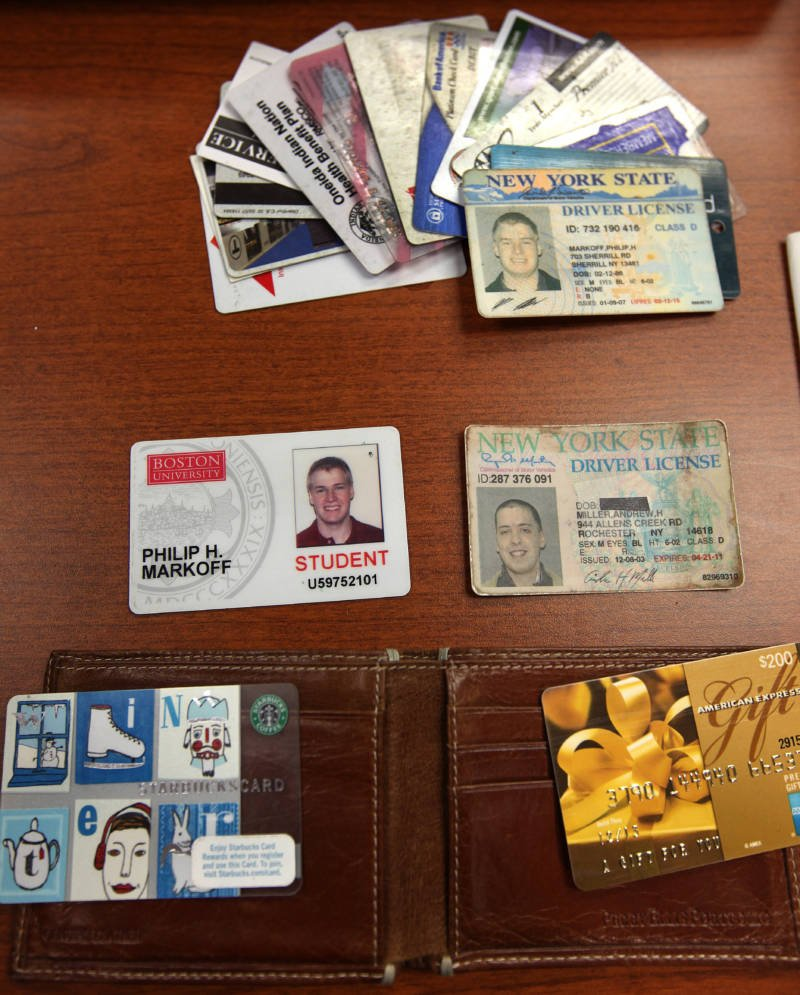 Markoffs Many ID Cards