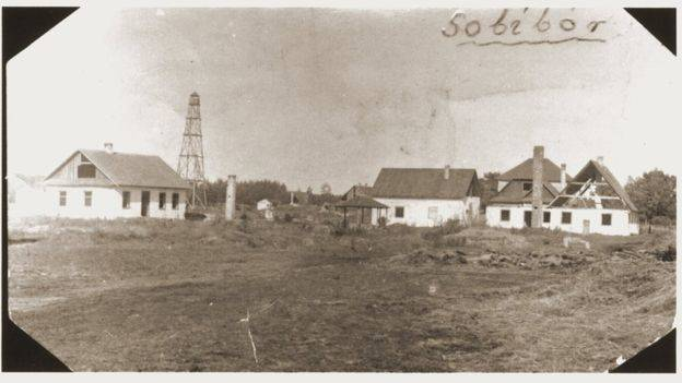 Old Photo Of Sobibor Camp