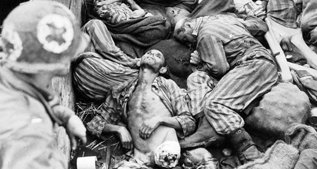 Pile Of Bodies At Bergen Belsen