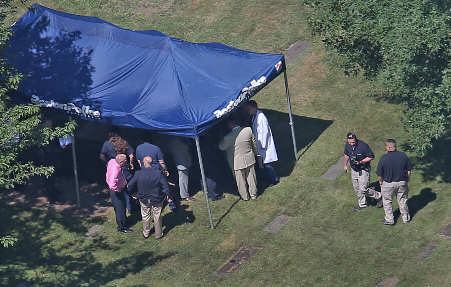 Police Exhume Albert Desalvos Body