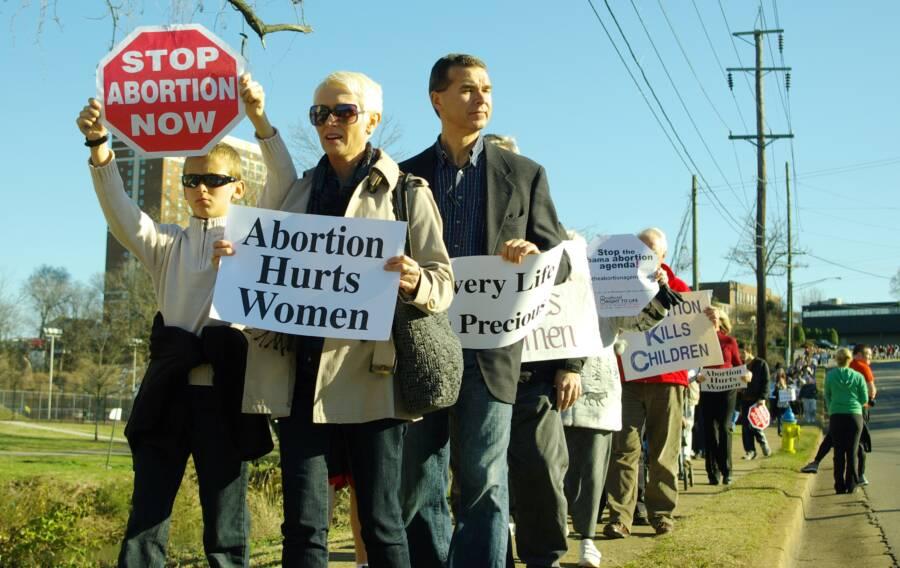 Pro Life Protestors