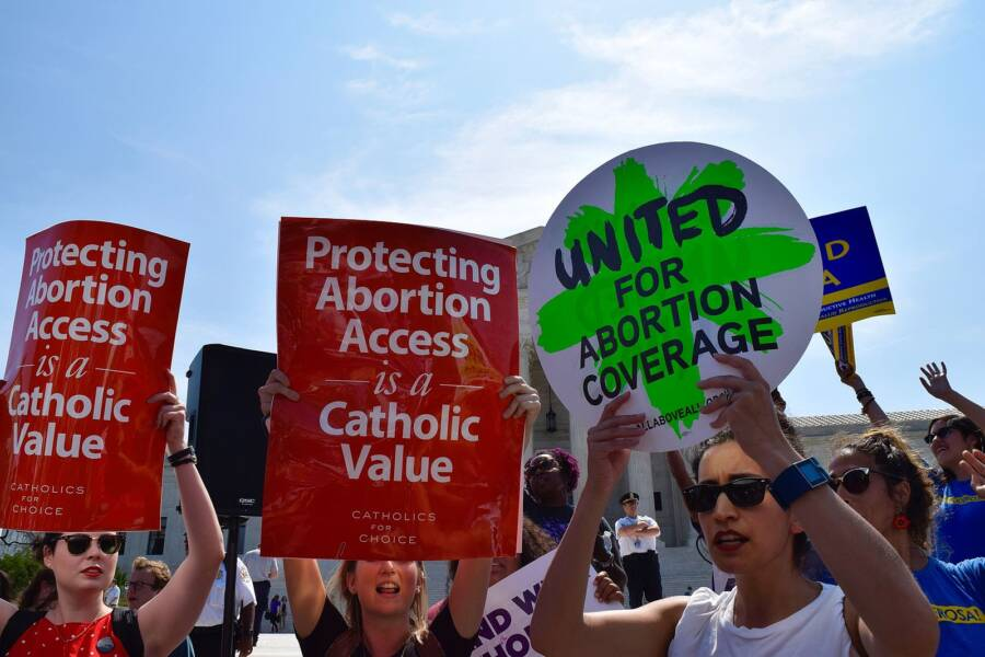 Protect Abortion Access Protestors