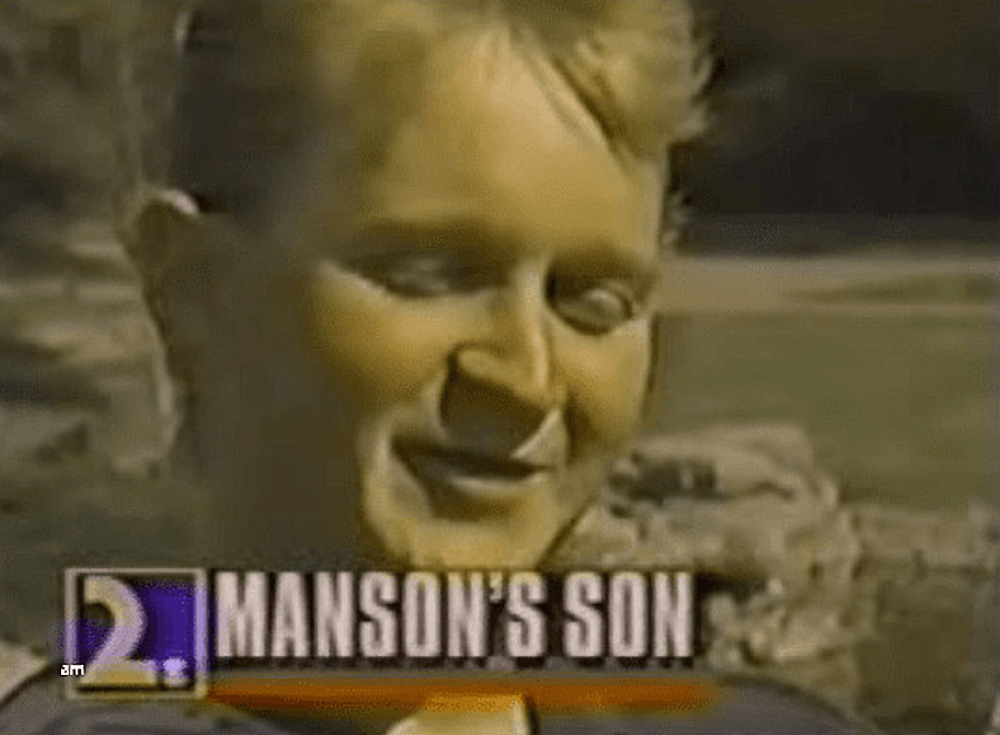 Screengrab Charles Manson's Son Michael Brunner