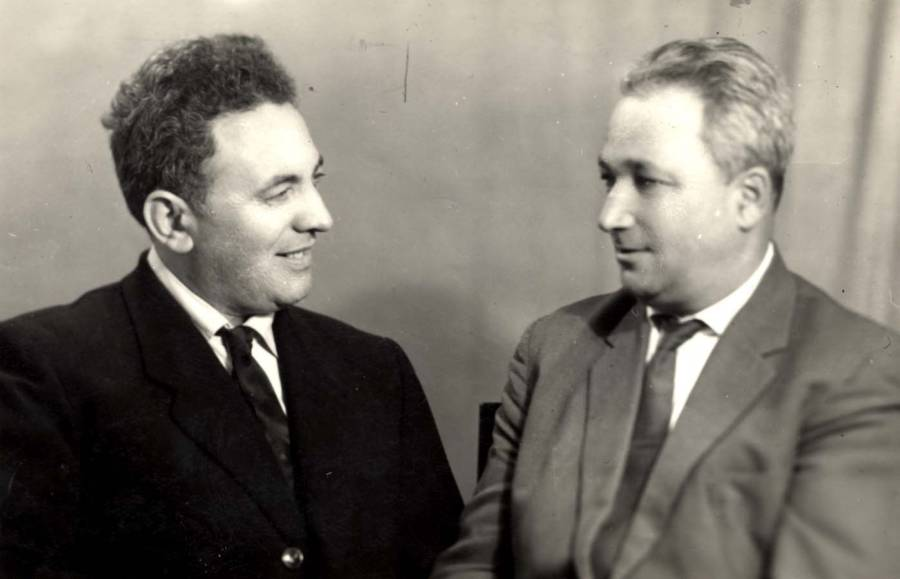 Semion Rosenfeld And Alexander Pechersky