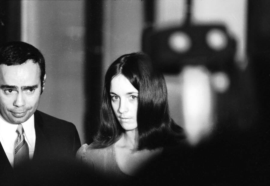 Susan Atkins With Her Lawyer