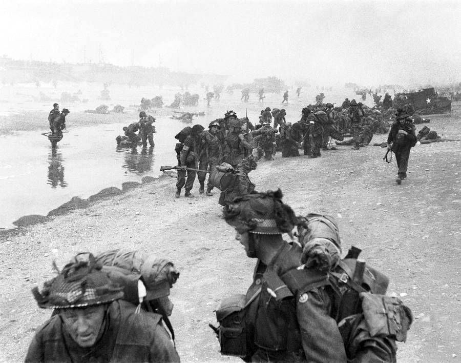 D-day 1944 (3) Sword Beach & The British Airborne landings