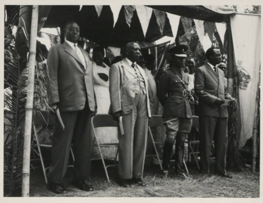 Ugandan Kings At Ceremony