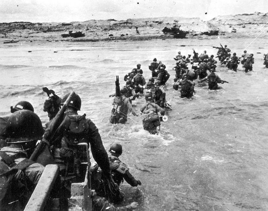 Utah Beach Landing On D-Day