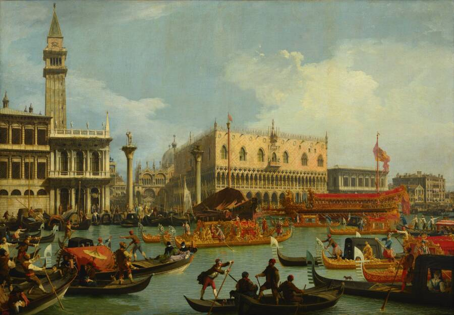 Venice In The 1720s