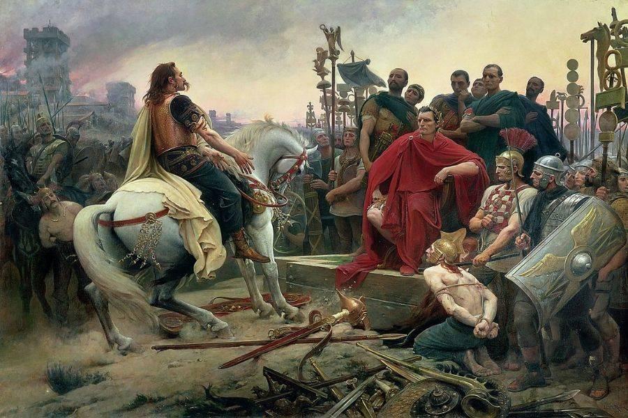 Vercingetorix And Caesar
