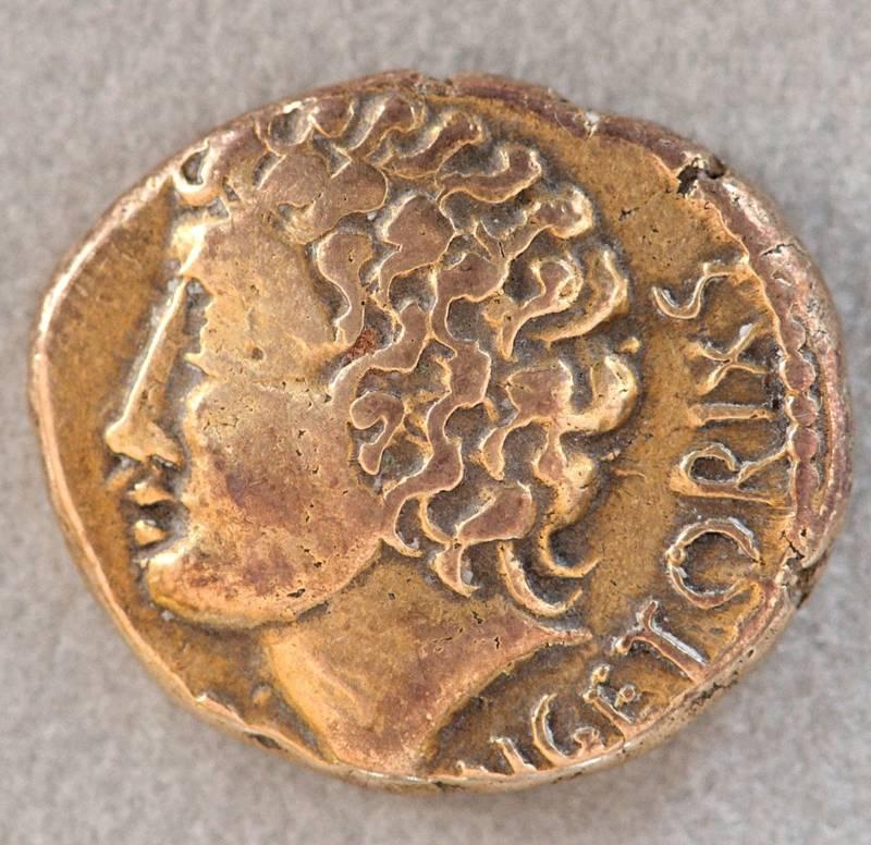 Ancient Gallic Coin