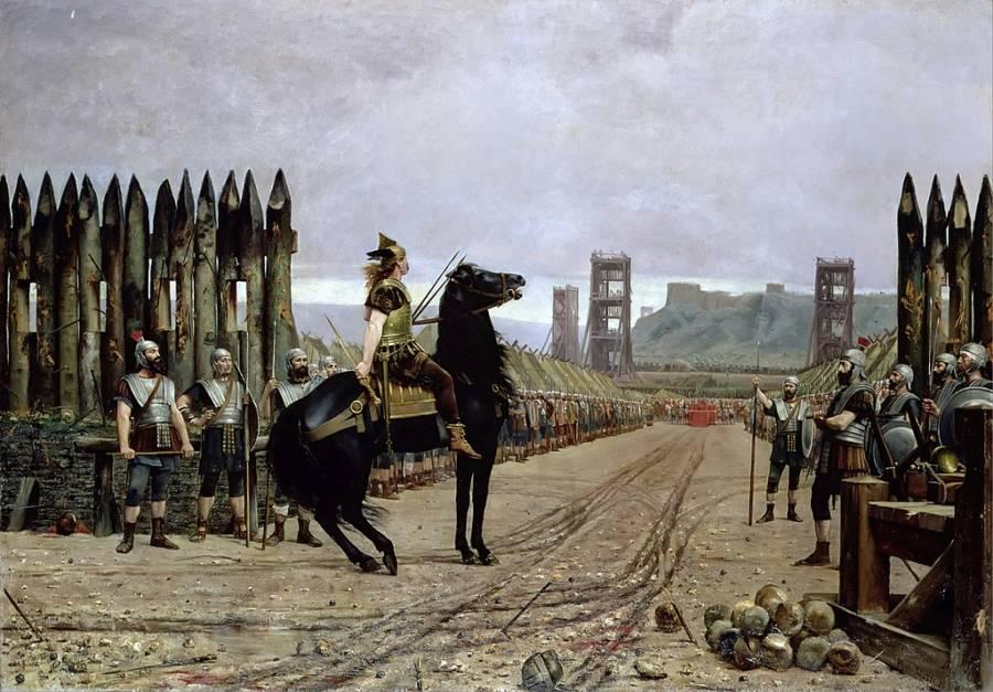 Vercingetorix Surrenders