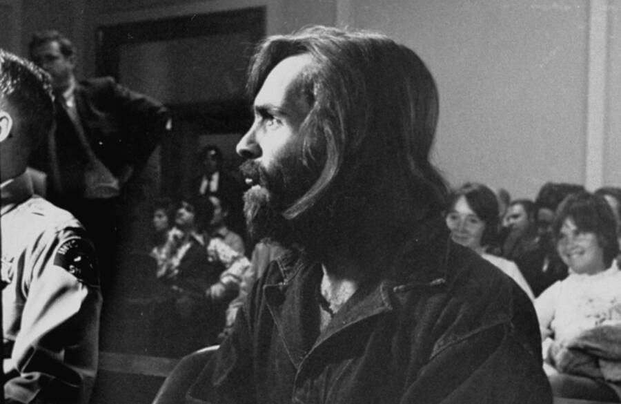 Who Was Charles Manson Trial Photo