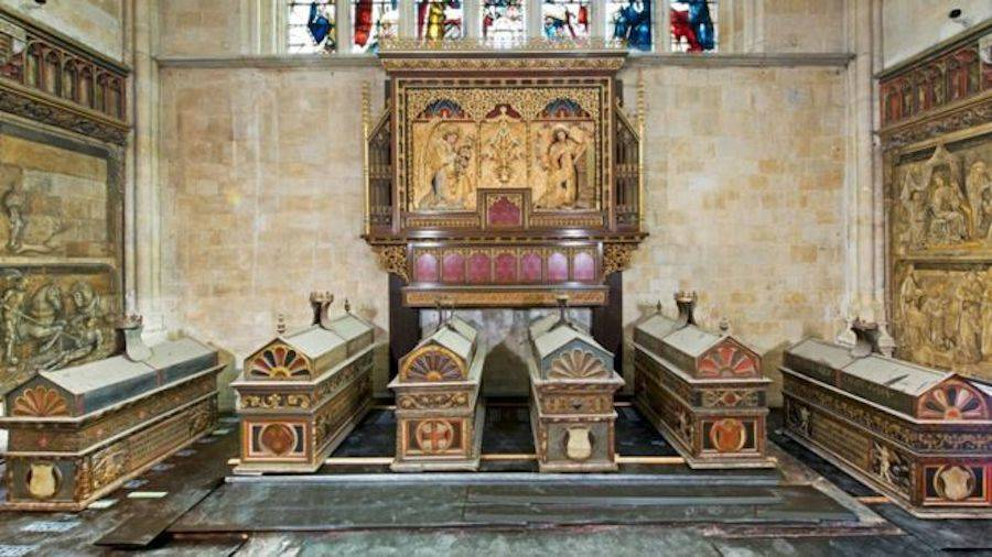 Winchester Cathedral Mortuary Chests