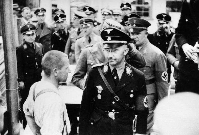 Himmler At Dachau In 1936