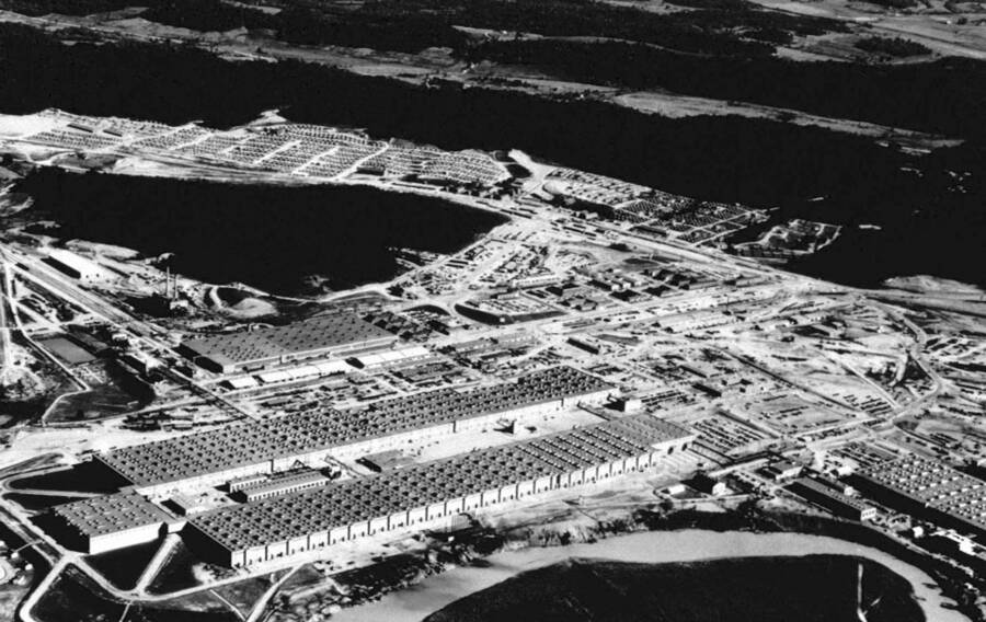 Manhattan Project Aerial View