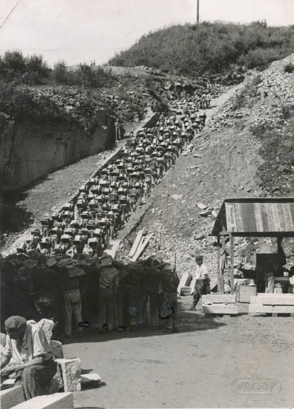 Mauthausen Stairs Of Death