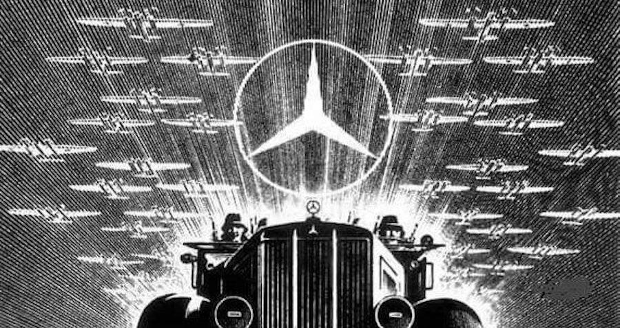 Mercedes-Benz Nazi Propaganda