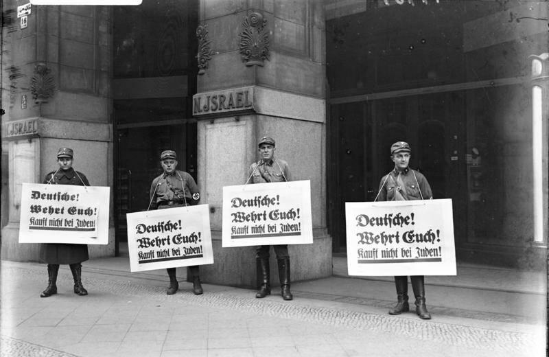 Nazi Boycott 1933