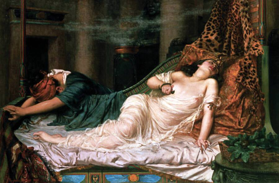 Painting Of Cleopatra Dying