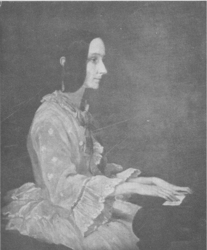 Ada Lovelace At Piano